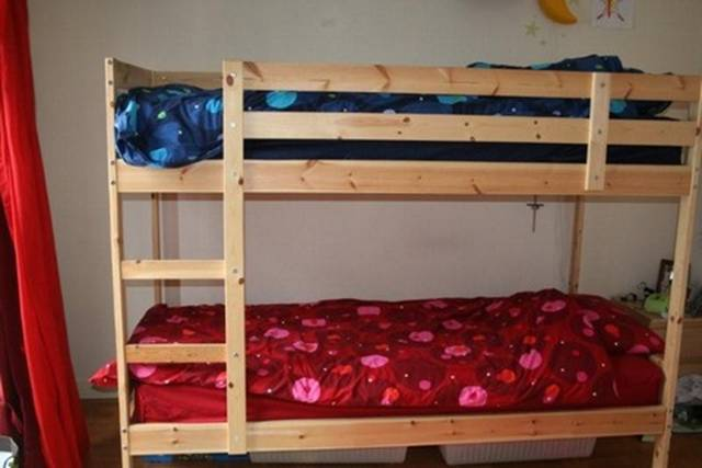 Ikea bunk bed andmattresses